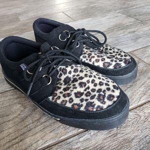 T.U.K. Rare Men T.U.K. Shoes Black & Leopard